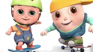 Skateboard videos for kids -  Toys videos for kids - surprise eggs unboxing by jugnu kids