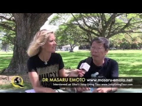 Dr Masaru Emoto Interview by Lilou Mace; Messages from Water, DNA, New Era