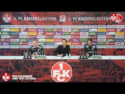 Pressekonferenz vor dem Spiel in Berlin