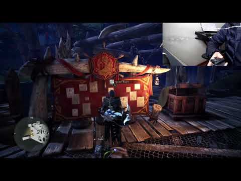 Jugando Monster Hunter: World con una mano