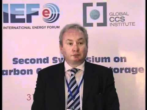 John Gale, General Manager, IEA GHG R&D Programme