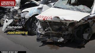 Ramadan road warning