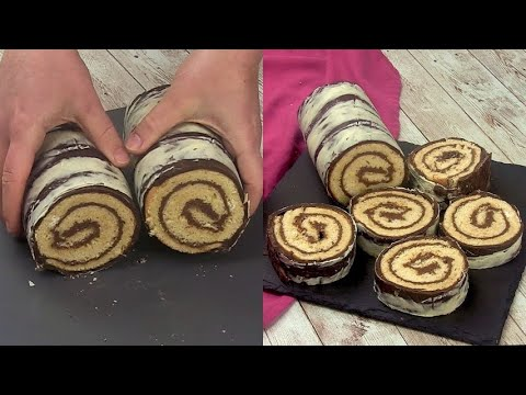 Chocolate roll the secret to surprising your guests