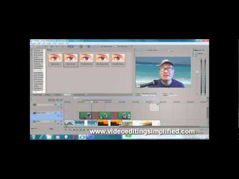 Sony Vegas Movie Studio 10: Chroma-Keyer Tutorial