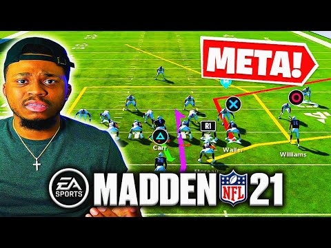 """FULL GUIDE for BEST """"META PLAYBOOK"""" in Madden 21! This is the PLAYBOOK the PROS USE!"""