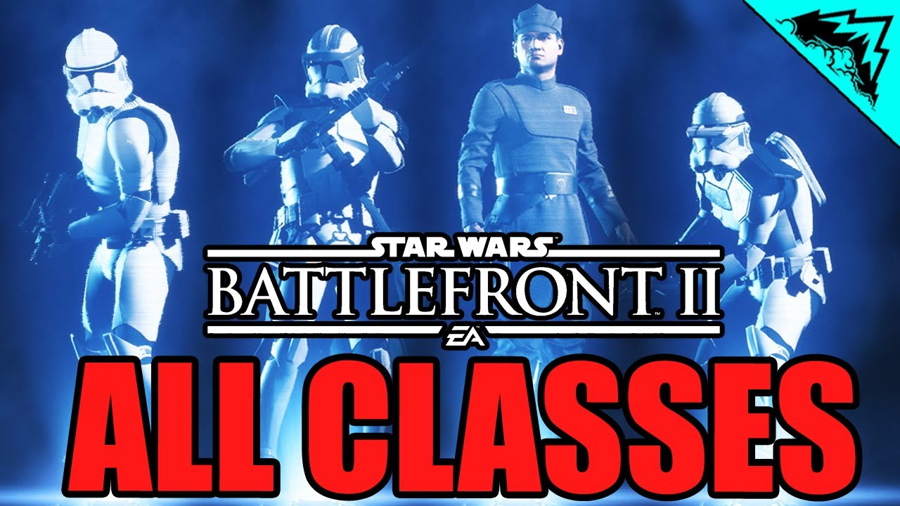 Star Wars Battlefront 2 Classes Overview Assault Heavy Officer Specialist Multiplayer Gameplay