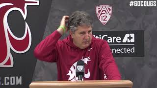 Mike Leach Press Conference Nov. 20 thumbnail
