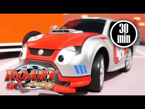 Roary The Racing Car Official | Silver Hatch Stars | Roary Full Episodes | Kids Movies 🏎️