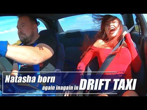 Natasha Born Again In Drift Taxi