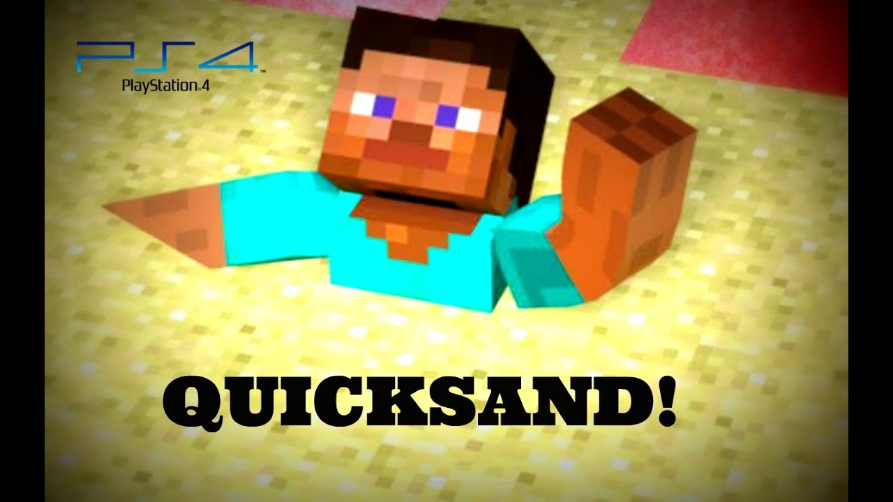 how to make quicksand in minecraft ps3