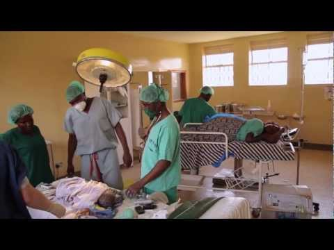 African Caesarean section and Child delivery at Mukono Healt