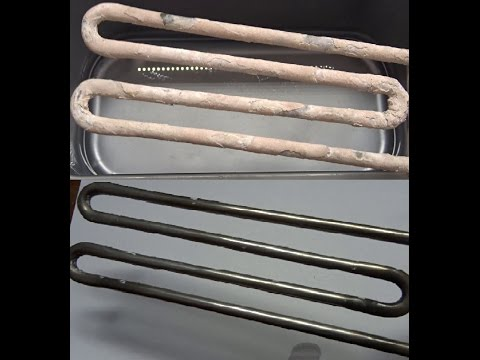 Cleaning A Heating Element With Vinegar