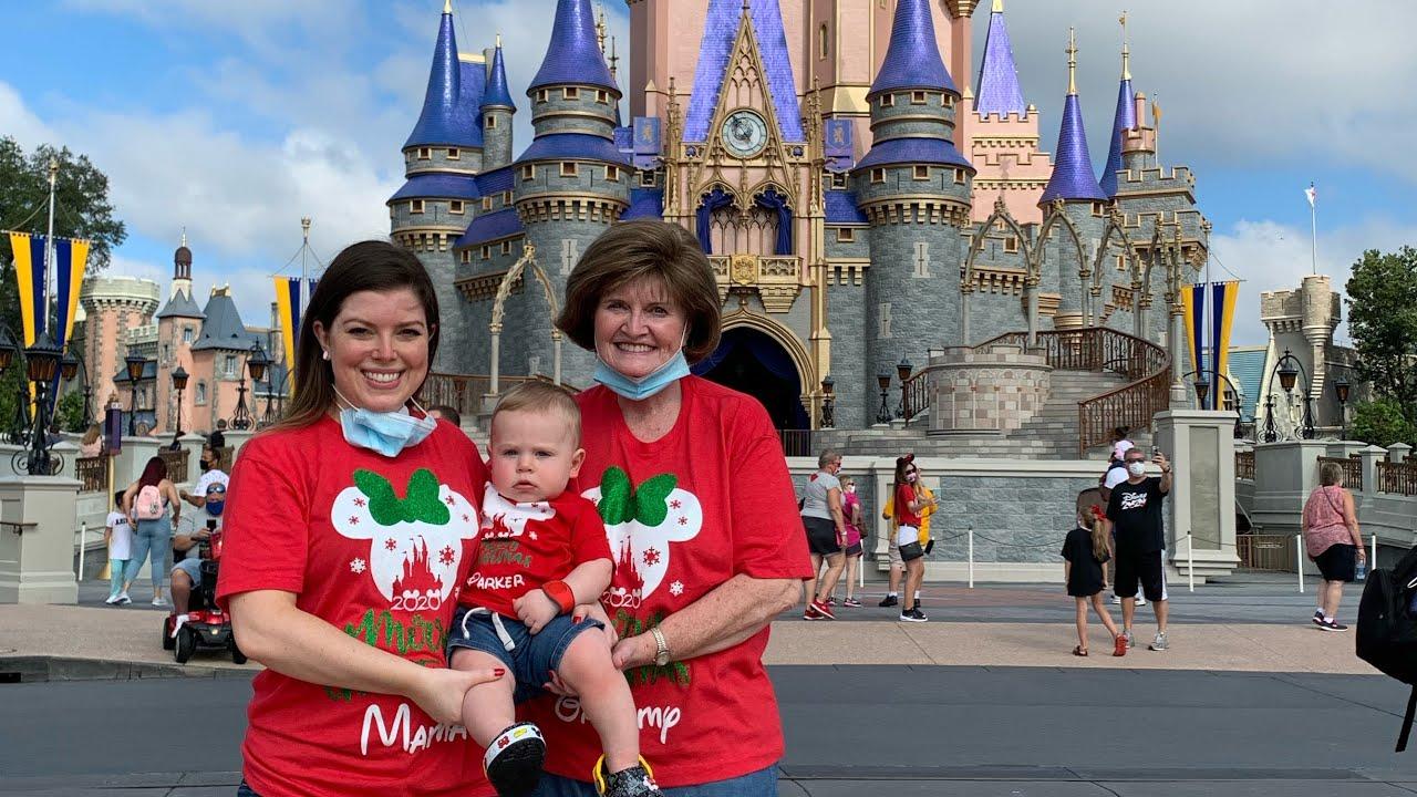 Christmas Disney Trip 2020 Part 1   Disney During the Pandemic   Babies First Trip to Disney