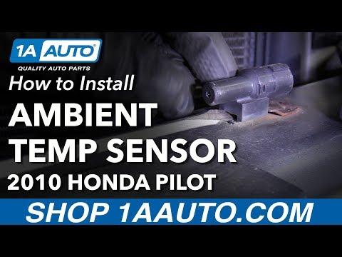 How to Replace Ambient Air Temperature Sensor 09-15 Honda Pilot