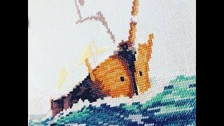СП Мечты об отпуске. Отчет 2. Dimensions Clipper Ship Voyage. Вышивка крестиком