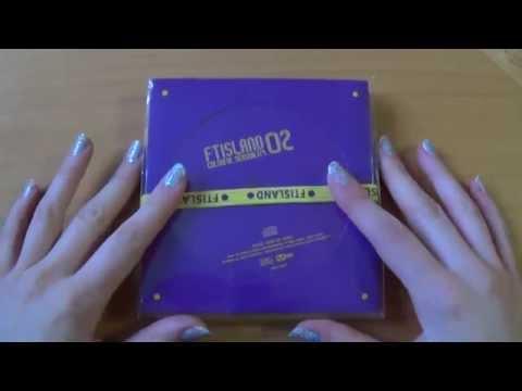 Unboxing FT Island 에프티 아일랜드 2nd Korean Studio Album Colorful Sensibility (Part I)