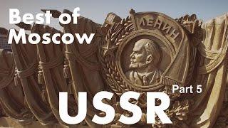 Best of USSR Moscow UAV quadcopter / Part 5 of 7/ Наследие СССР – Москва, съемка с р/у вертолета