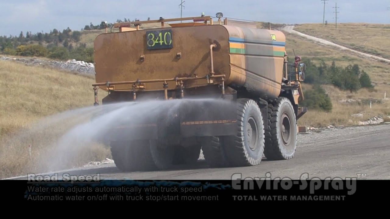 Enviro Spray Water Cart Spray Control System