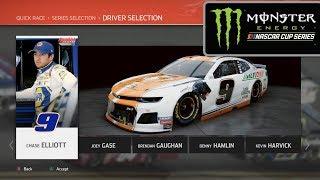 NASCAR HEAT 4   ALL CUP PAINT SCHEMES