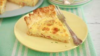 Simple Quiche Lorraine Recipe + Egg-Free Option