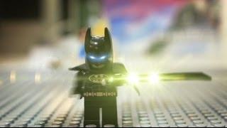 Lego Batman vs Transformers Stop motion : The Easy Taxi App