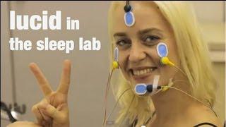 lucid dreaming in the sleep laboratory - luzides Träumen im Schlaflabor
