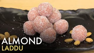 Soya Almond Laddu   Badam Laddu   बादाम लड्डू   Healthy Laddu   Food Tak