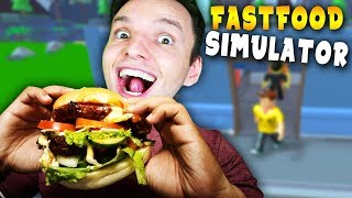 Build a FASTFOOD restaurant and make customers fat! | Roblox