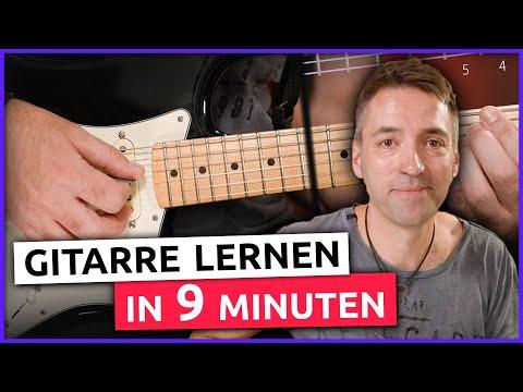 Gitarre Lernen In Nur 9 Minuten! (für Anfänger)
