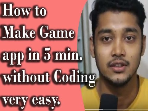 Make Your Own Game App In 5 Mins Easy | Tech Game & Apps