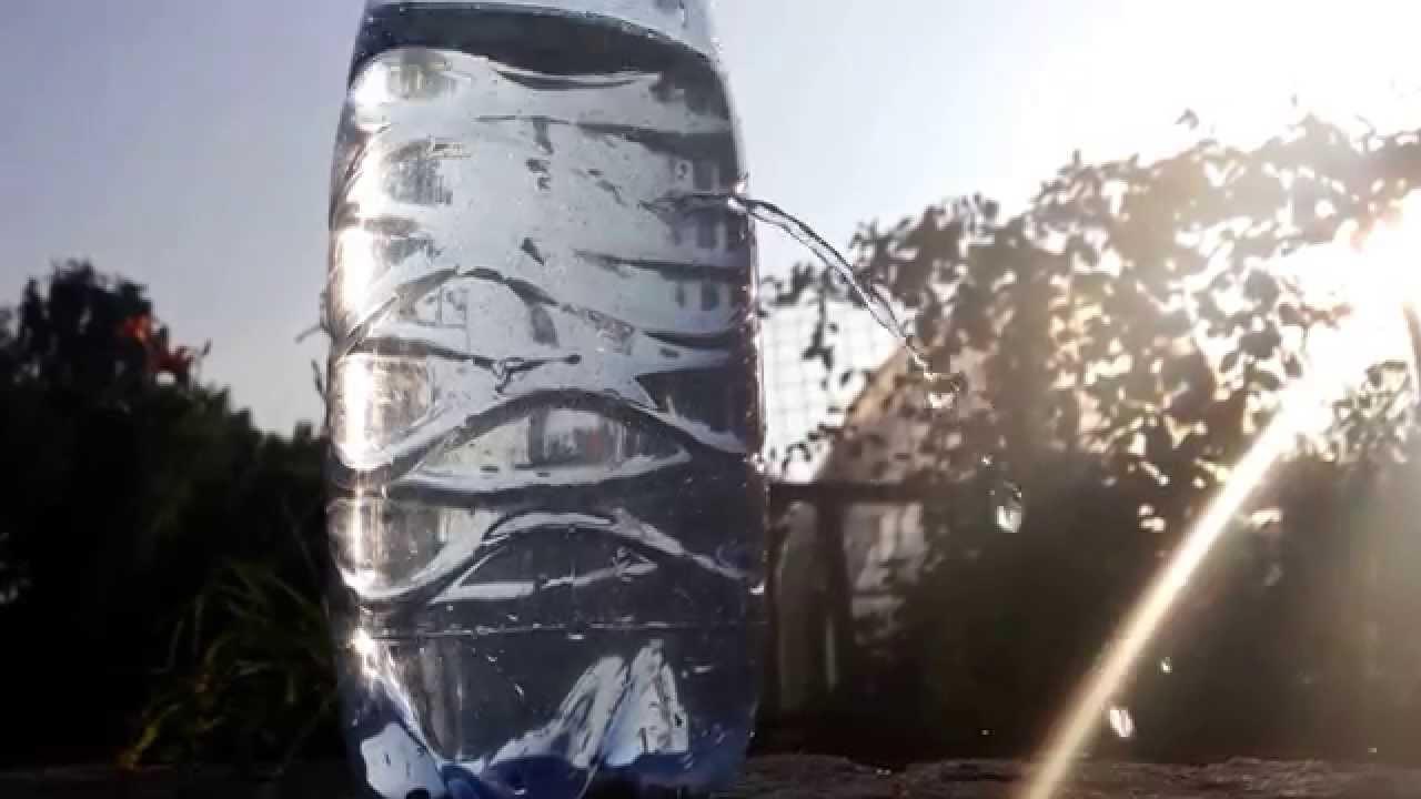 Бутылка с водой - YouTube