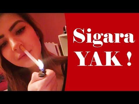 Havalı Şekilde Sigara Yak !