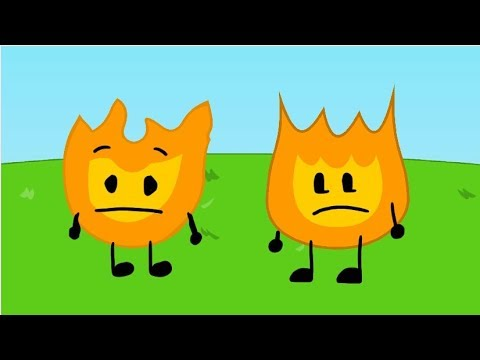BFDI Short:Firey meets Himself from the past