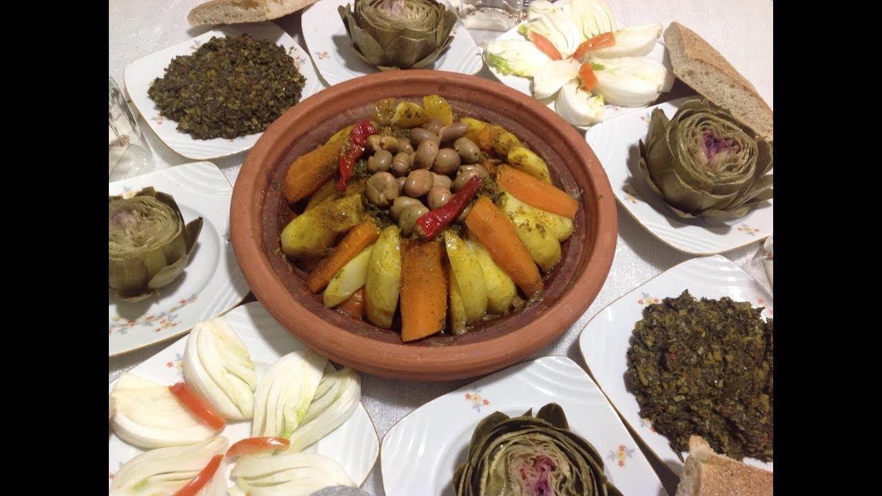 مائدة غذاء او عشاء مغربية شتوية 100 صحية و سريعة Youtube