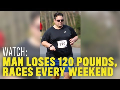Running Weight Loss:I This Teacher Lost 120 Pounds, Now He Races Every Week