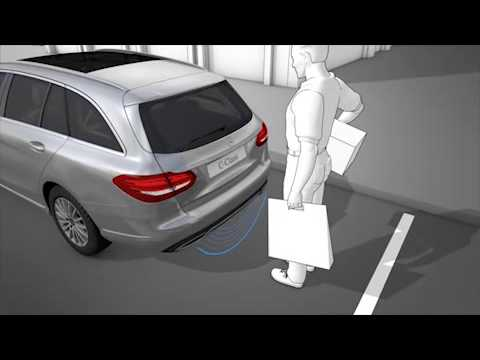 Mercedes benz c class w205 2014 hands free access open for How to open the trunk of a mercedes benz e320