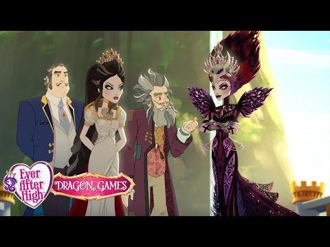 Дочь белоснежки и дочь злой королевы мультфильм