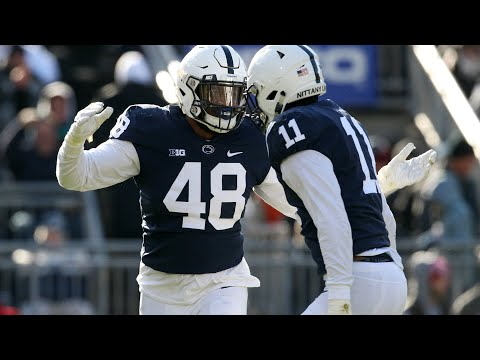 #23: Penn State LB Micah Parsons |  Top 30 Returning B1G Football Players of 2019