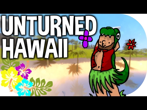 "Unturned | ""HANG-GLIDERS AND EPIC FAILS IN HAWAII!"" 