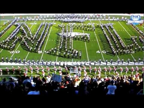 Allen High School Escadrille 2013 NFL Halftime Performance