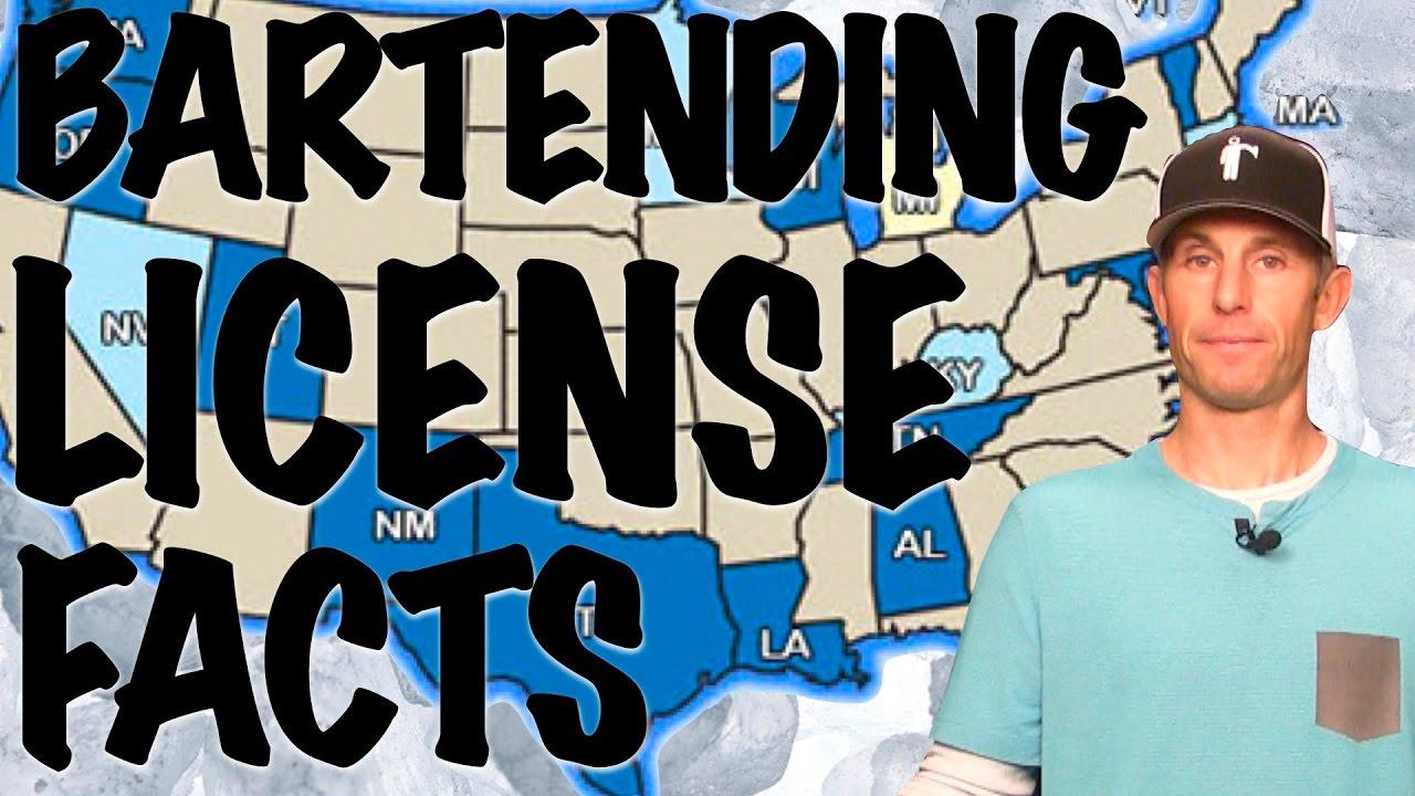 Bartending License Facts Bartending 101 Youtube