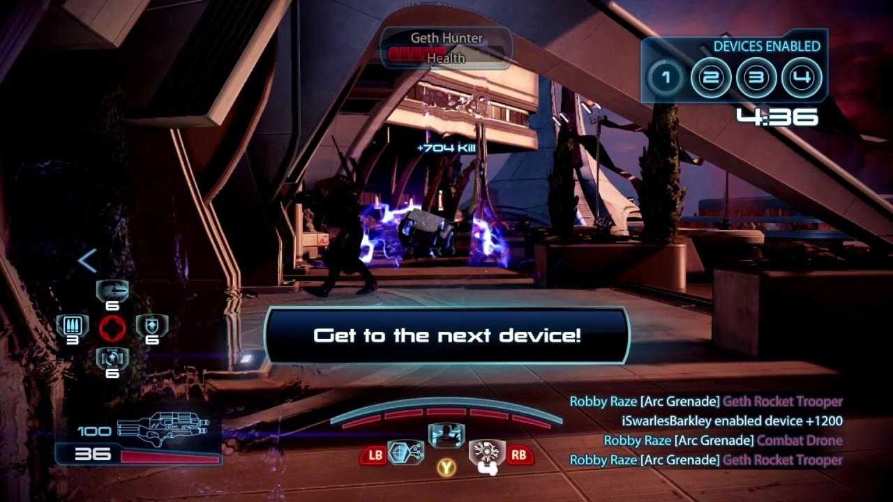 Infiltrator Mass Effect  Multiplayer Build