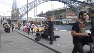 Dia 01 - Artista de Rua - Rio D'ouro - Porto - Portugal