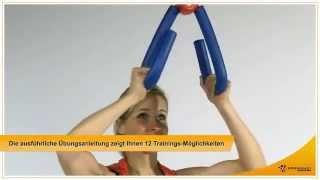 видео Эспандер бабочка: упражнения для мышц бедер, рук и ног