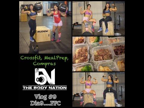 "Josetty Hurtado Vlog #9 ""Crossfit"" food and fitness challenge"
