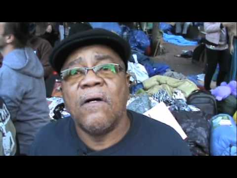 Transit Worker Union member at Occupy Wall Street