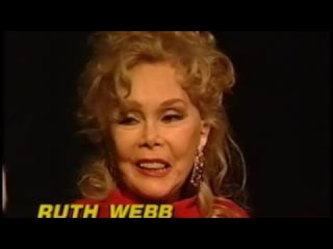 Ruth Webb, Mark Harris Rare TV Interview, Martha Raye