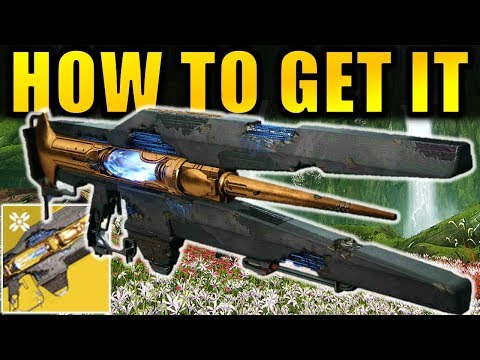 Destiny 2: How to Get the DIVINITY Exotic Raid Trace Rifle! | Shadowkeep