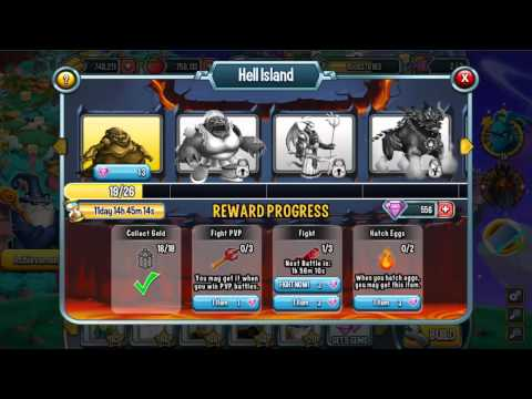 Progressive Island In Monster Legends Episode 1