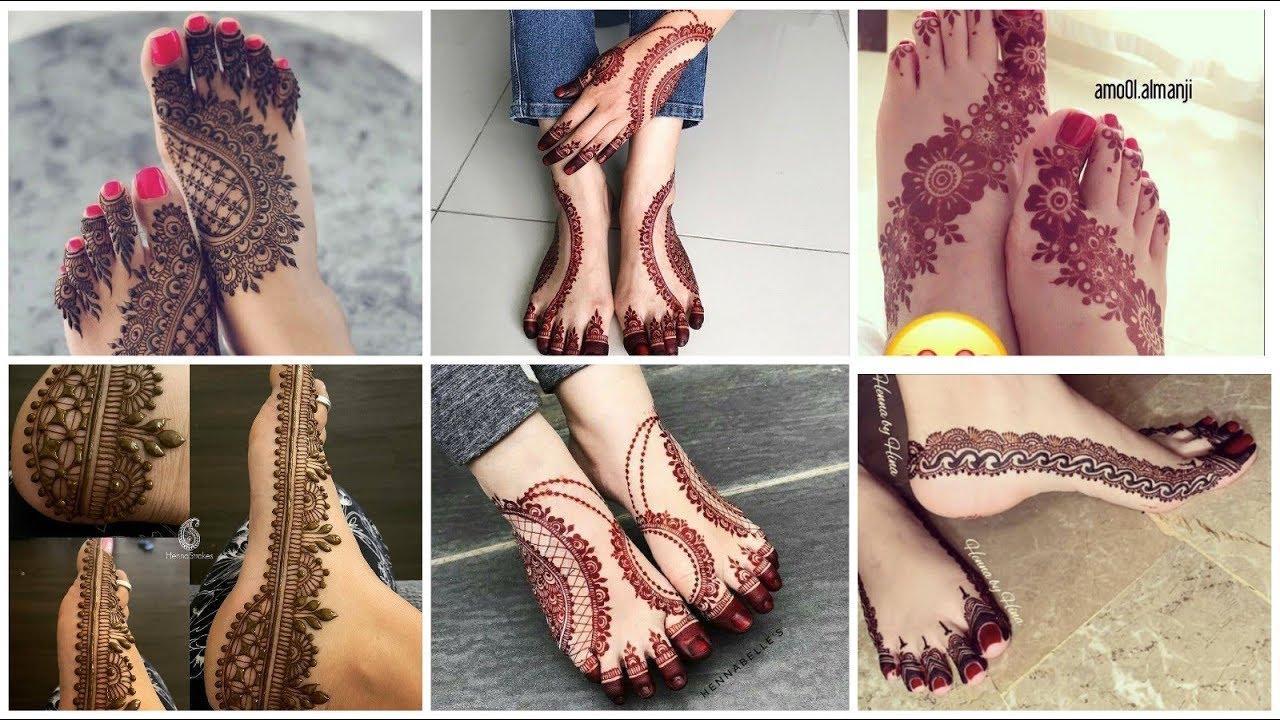 www foot mehndi design com